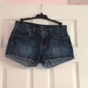 Lucky Brand jean shorts size 00/24